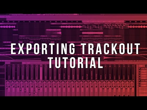 Exporting MIDI & Trackouts (FL Studio Beginner Tutorial)