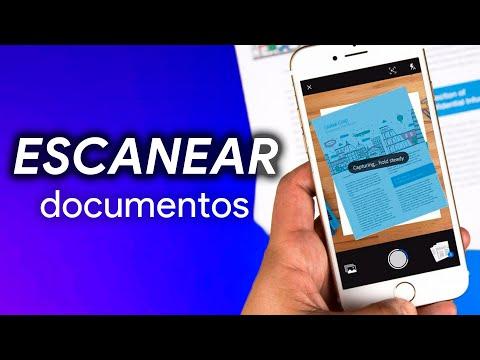 Cómo ESCANEAR documentos con tu MÓVIL (iOS y Android)
