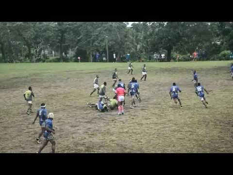 Nasinu Rugby Union Quarterfinal 2016: Newtown vs Flametree Colo i Suva (1st half)