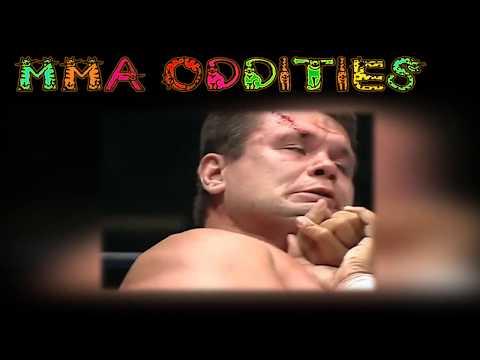 MMA Oddities #9 - Oleg Taktarov's Only Pancrase Fight