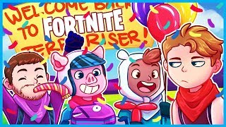 TERRORISER Makes His *RETURN* to Fortnite: Battle Royale! (Fortnite Funny Moments & Fails)