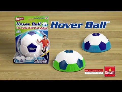 tv spot hoverball der fu ball f r drinnen youtube. Black Bedroom Furniture Sets. Home Design Ideas