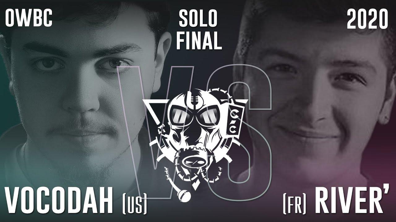 VOCODAH vs RIVER' | Online World Beatbox Championship Solo Battle | FINAL