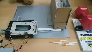 Tubing pusher of personal cigarette rolling machine (Cigarette Rolling Machine)
