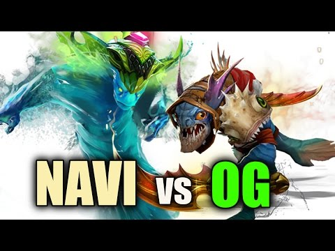 NAVI vs OG The International 6 Group Stage Dota 2