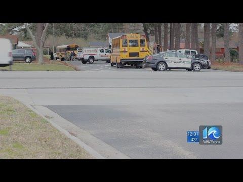 Malfunction causes smoke on school bus in Chesapeake