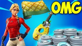 the NEW FORTNITE STARTER PACK - Pineapple Strummer Starter Pack (Fortnite New Starter Pack Season 8)