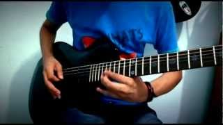 In The End - Black Veil Brides (Guitar Solo Cover) With Tabs!!!