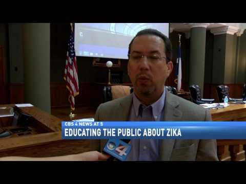 Educating the public about zika