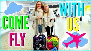 COME FLY WITH US ! Musical.ly On A Plane & What Kids Do On A Flight |  Vacation Vlog 1.