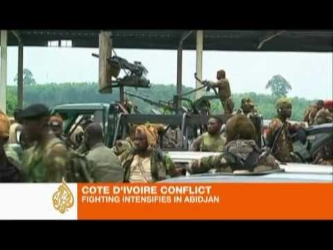Cote D'Ivoire: Fighting intensifies in Abidjan