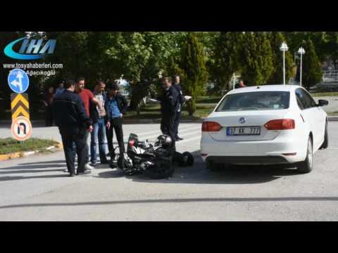 Tosya Motosiklet Kazası