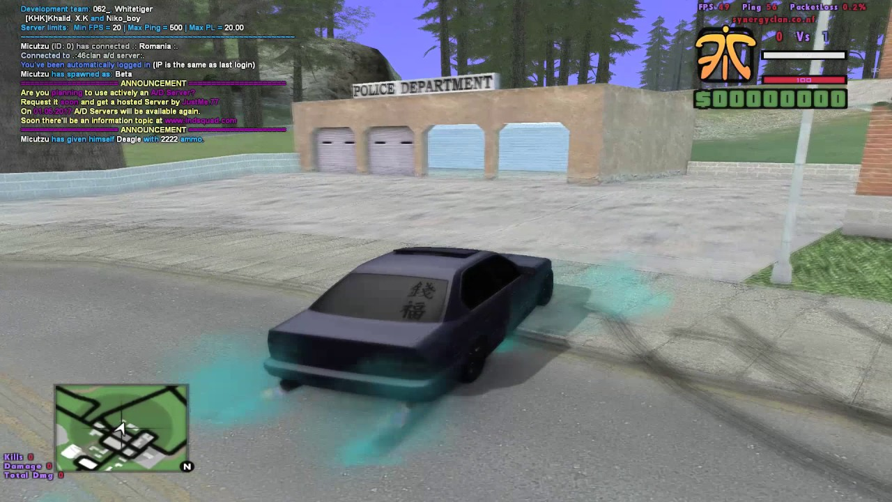 SAMP MODS [WEAPONS,SOUNDS,TEXTURE PACK,  VEGETATION,ROADS,TIMECYC,EFFECTS,FONTS,SKINS,CAR,SHADOWS]