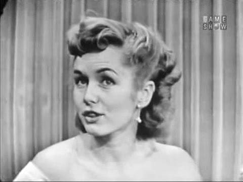 What's My Line? - Ivy Baker Priest; Debbie Reynolds (Aug 29, 1954)