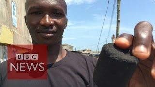 'Poo-power' - would you eat food cooked using faeces?  BBC News thumbnail