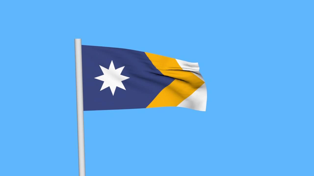 new australian flag unity flag waving animation youtube