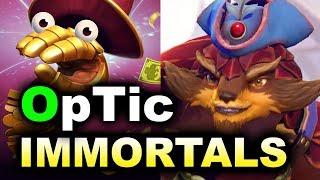 OpTic vs IMMORTALS - NA Fun + TrashTalk - Midas Mode DOTA 2