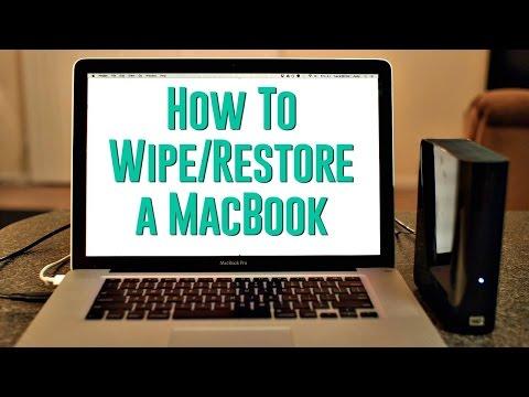 How to wipe my apple hard drive