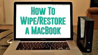 How to Wipe & Restore a MacBook Pro/Air to Sell