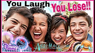 Try Not To Laugh Watching DISNEY ANDI MACK Funniest Musical.lys 2018 | Disney Challenge!