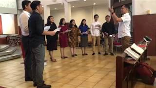 Haholongan Nabadia Alumni Hallelujah Choir Sejabodetabek