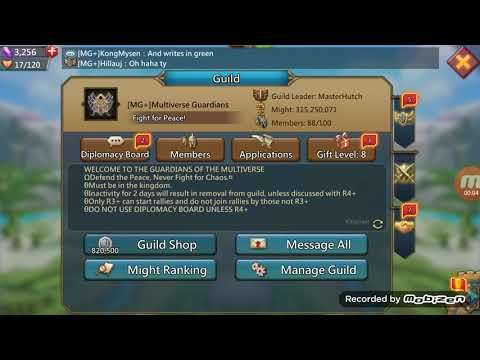 Construction And Research Optimization - Lords Mobile