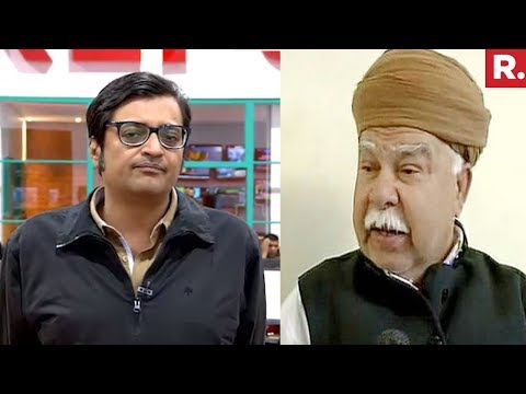 Arnab Goswami Vs Karni Sena Chief Lokendra Singh Kalvi Over Padmaavat Release