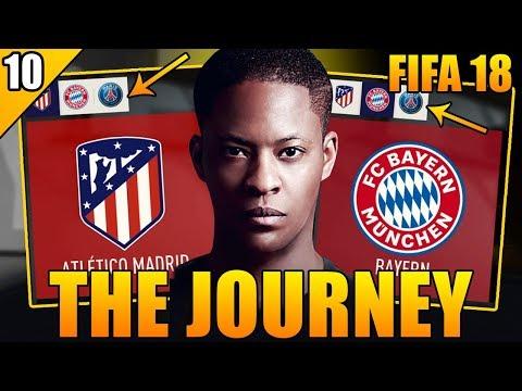 DER WECHSEL ZUM TOPCLUB !! 🔥🔥 ATLETICO, BAYERN ODER PSG ?! 😱 | FIFA 18: THE JOURNEY 2 #10 | DEUTSCH