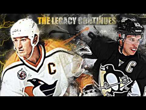 Mario Lemieux - ice sculpture