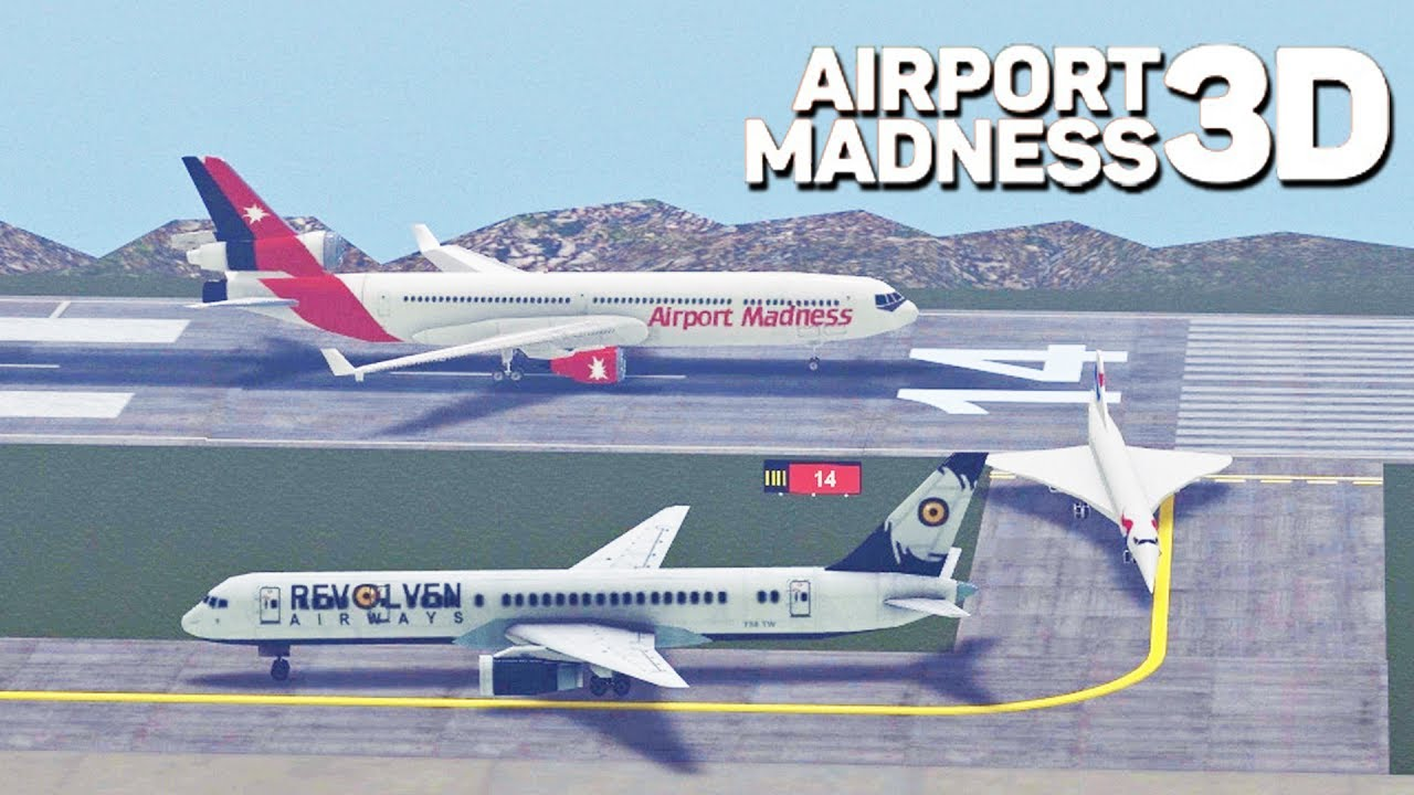 Airport Madness 3D! | Big Fat Simulations