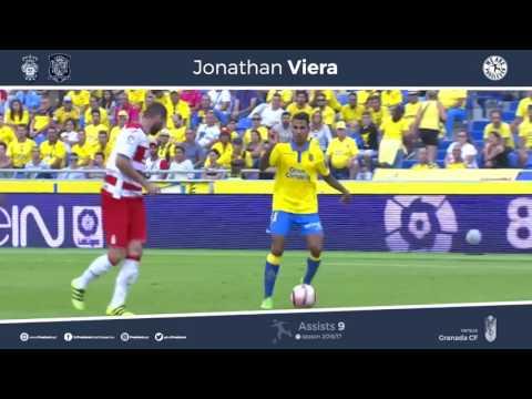 Jonathan Viera UD Las Palmas Best Moments (Video por su nueva agencia de representación, Pro Eleven)