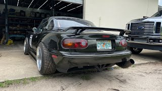 The LS3 Miata Finally Gets Some New Upgrades and It's Better Than Ever!