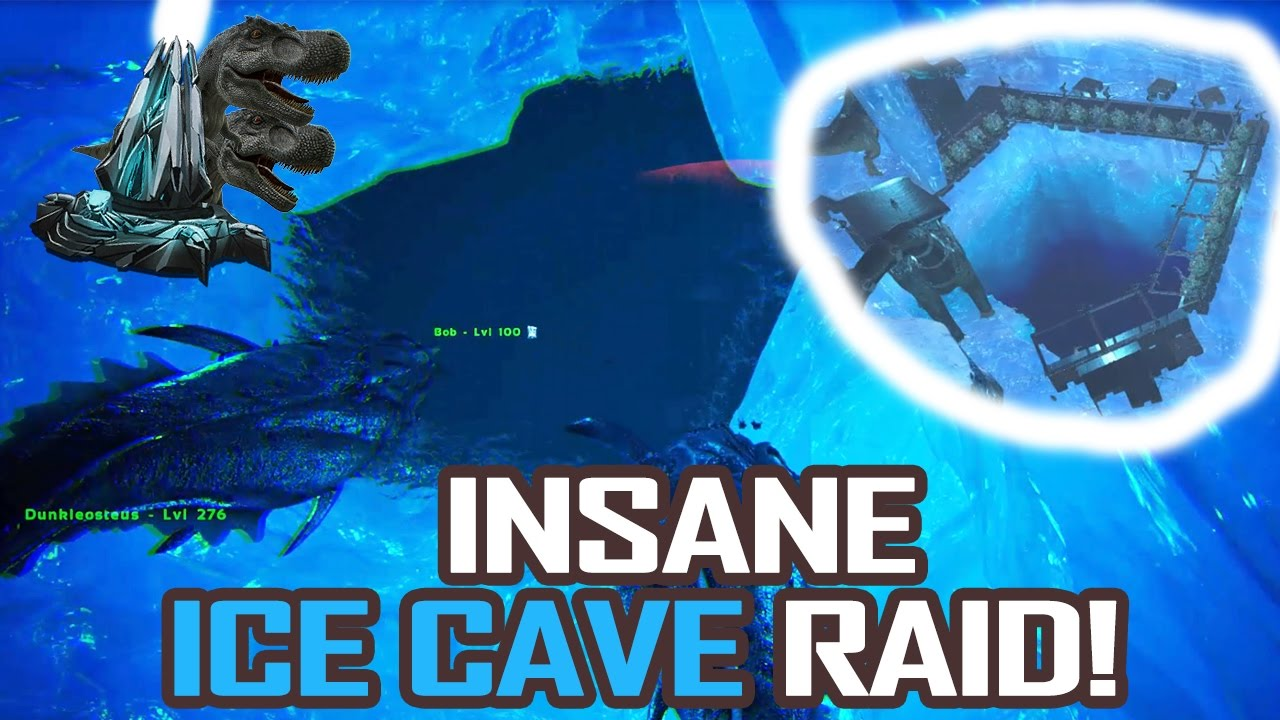 Ark center ice cave base
