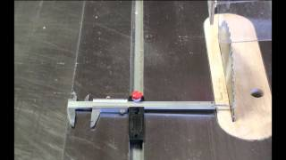 Mag Dro Review - How To Align Your Table Saw Blade To The Miter Slot
