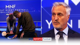 How to perform CPR | David Ginola \u0026 Jamie Carragher learn how to potentially save a life