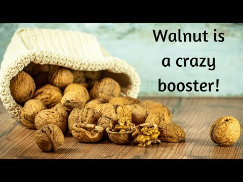 Why does walnut is good for brain, pregnancy, and insomnia? -health benefits of walnut