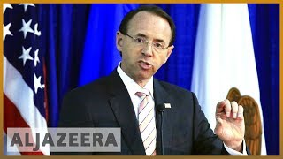 🇺🇸 Will Trump fire Rod Rosenstein over Russia interference probe? | Al Jazeera English