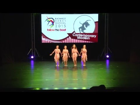 Bucharest Dance Festival 2015  Contemporary/M Group Junior  Rank:1