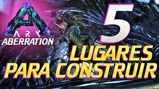 5 LUGARES PARA CONSTRUIR EN ABERRATION | ARK | TRIPODE