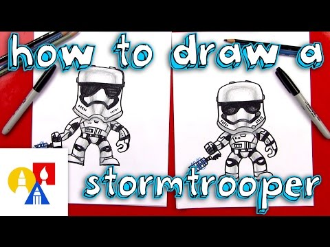 How To Draw A Stormtrooper FN-2199