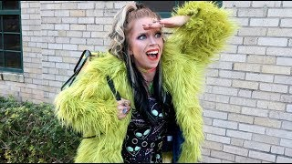 I Turned the GRINCH Into A Coat?! OOTD!