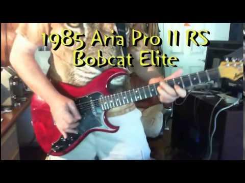 Stratocaster: Fender vs Aria vs Ibanez