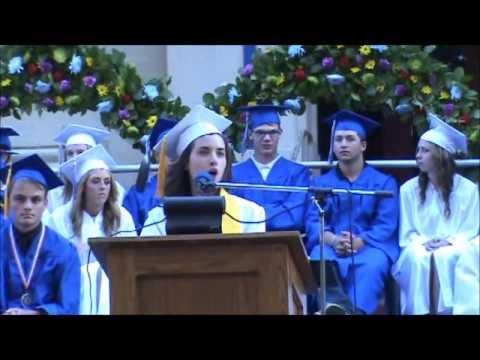 Bishop High Valedictorian Speech 2015