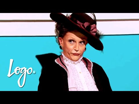 RuPaul's Drag Race  Snatch Game with Gillian Jacobs & Heather McDonald