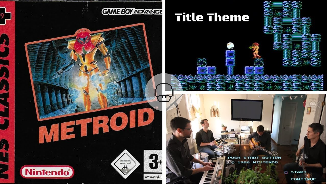 Metroid - Title Theme (Live Band) | Live Cover by EXTRA LIVES