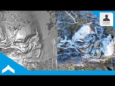 Using An Autonomous eBee Drone For Mining Exploration