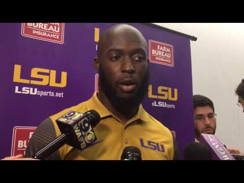 Leonard Fournette talks about LSU firing Les Miles
