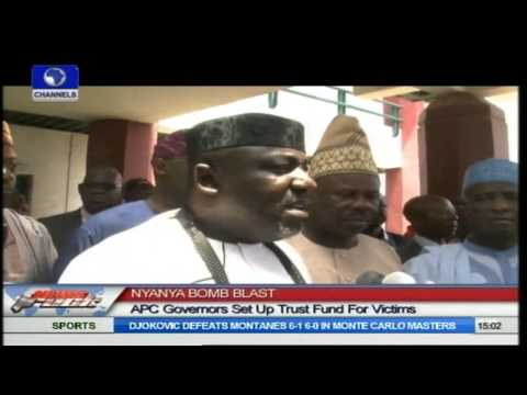Nyanya Bomb Blast: APC Governors Set Up Trust Fund For Victims