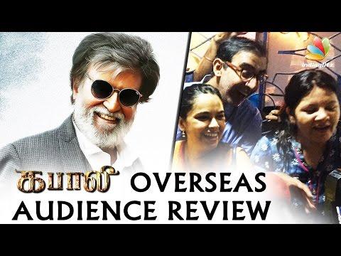 Kabali Overseas Audience Response | Rajini, Ranjith | Movie Review