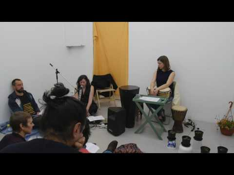 Karaoke Lecture by Anna Kinbom with Linnea Carlsson Bay_Part 8/9